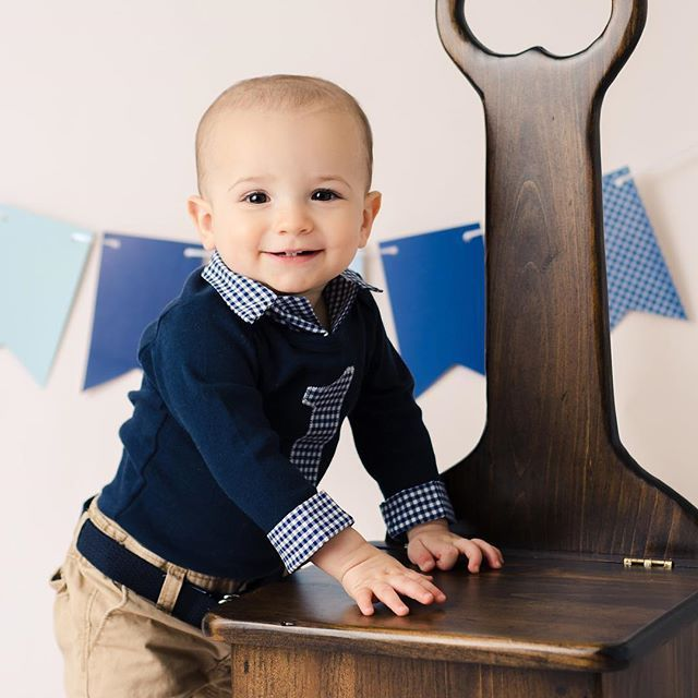 Brimmer Boys First Birthday Outfit, Baby Boy First