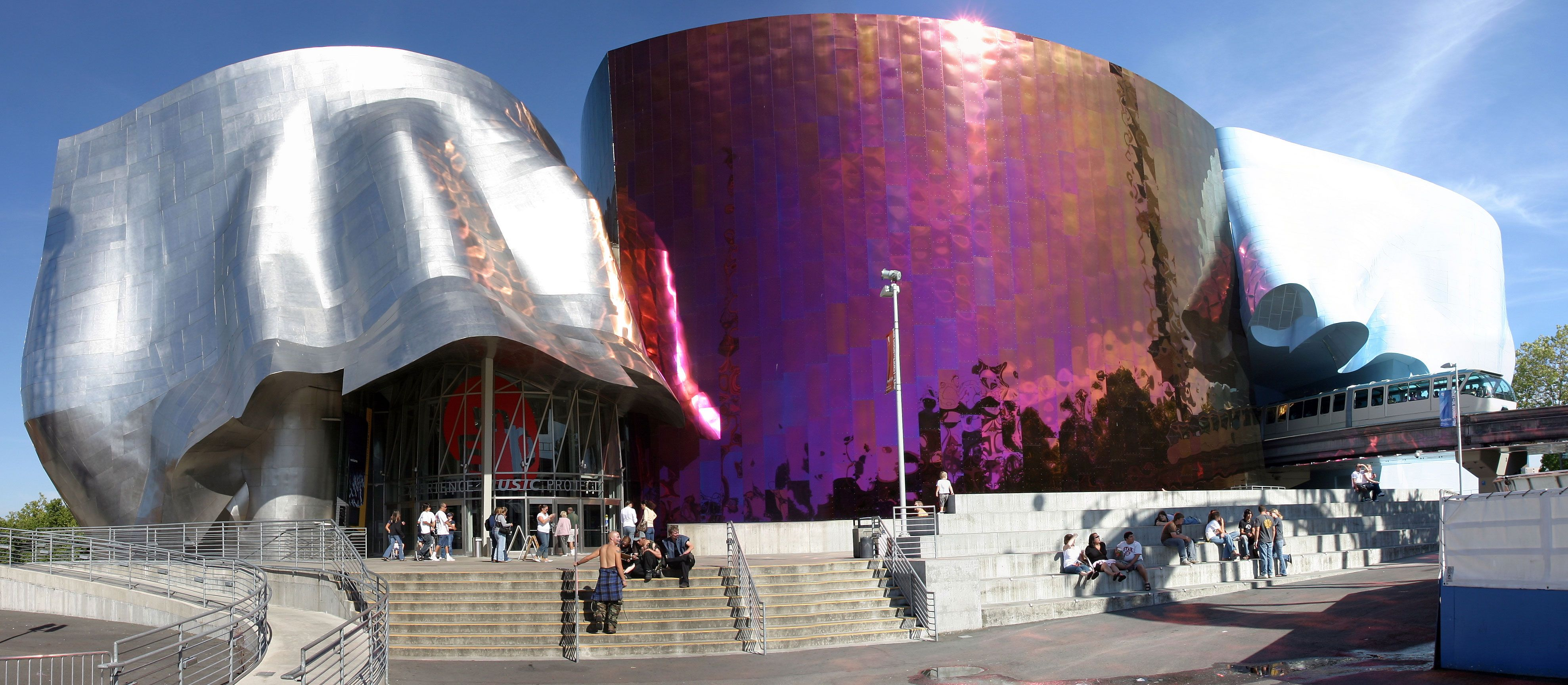 Seattles Experience Music Project EMP Feels Like Moving - Music museums in usa