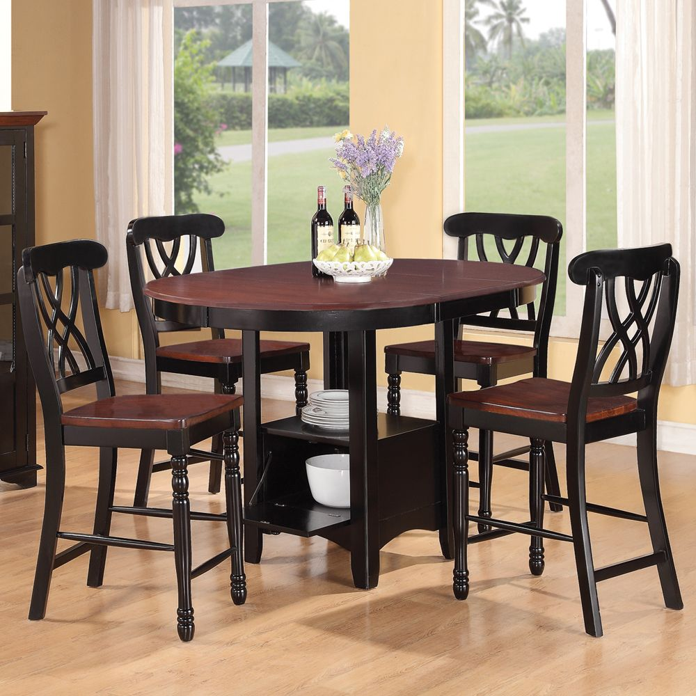 Addison Counter Height Gathering Table Amp Stools By Coaster
