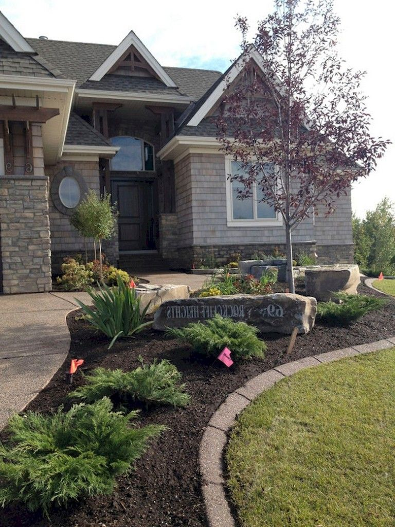 42 cool and beautiful front yard landscaping ideas on a on backyard landscaping ideas with minimum budget id=24138