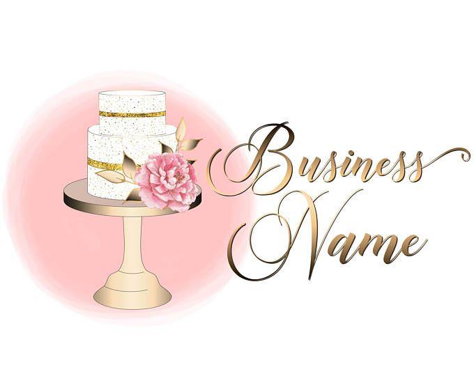 Premade cake logo Custom logo design bakery logo sweets ...