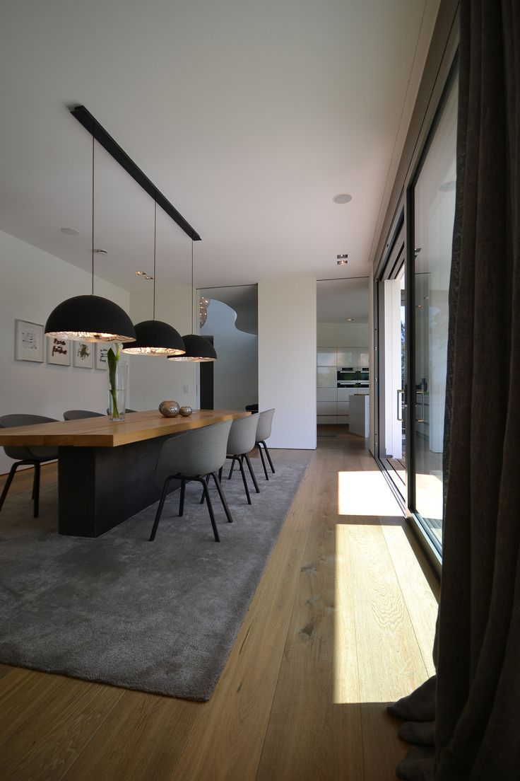 Bunck architektur bergisch gladbach einrichtungsideen also modern dining room minimalist  table new rh pinterest