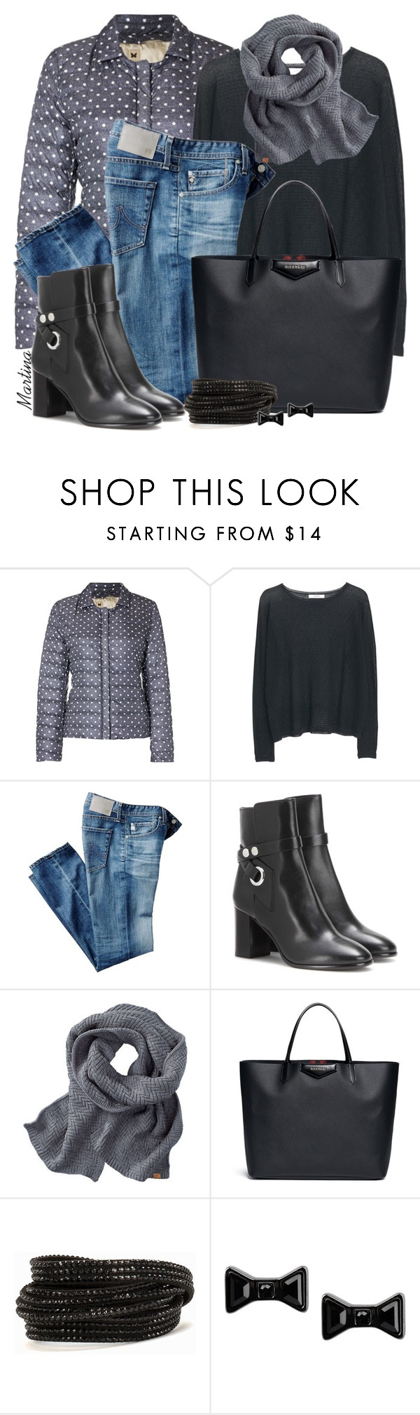 """""""Untitled #2355"""" by martina-cciv ❤ liked on Polyvore featuring MaxMara, MANGO, AG Adriano Goldschmied, Isabel Marant, Givenchy, Pieces, Marc by Marc Jacobs, women's clothing, women's fashion and women"""
