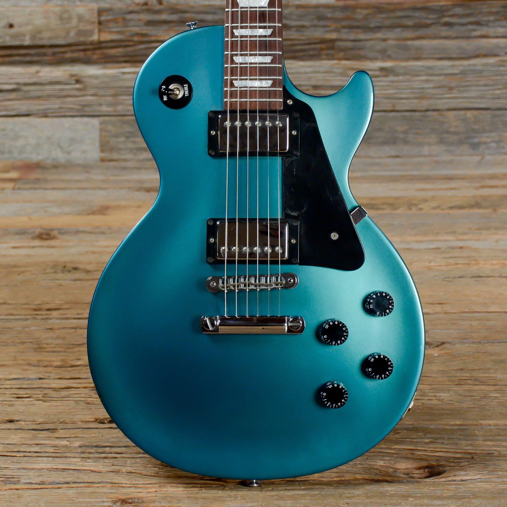 94295670c9c1 Gibson Les Paul Studio Blue Teal Flip Flop 2001