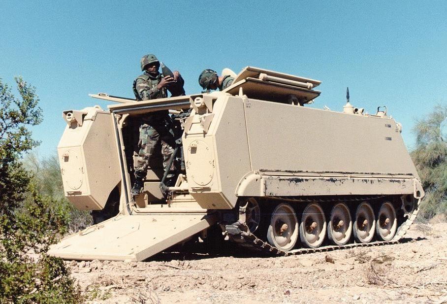 M106A3 120 mm Mortar Carrier (USA)