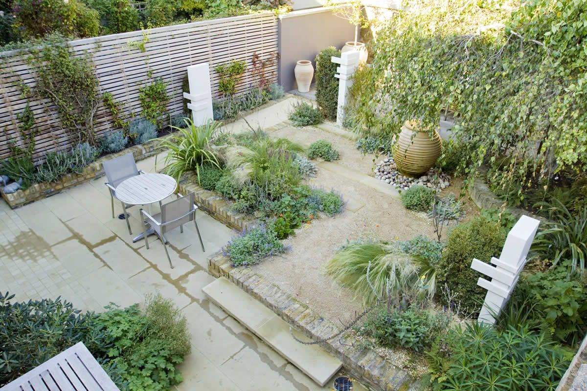 Small Backyard Garden Ideas Uk Bedroom and Living Room Image