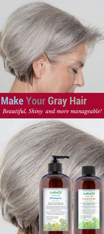 Gray Hair Shampoo 16 oz. | Hair Design | Shampoo for gray hair, Hair ...