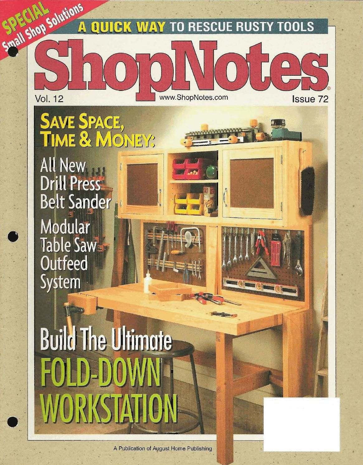 Shopnotes issue 72 shop notes pinterest woodworking note and shopnotes issue 72 greentooth Images