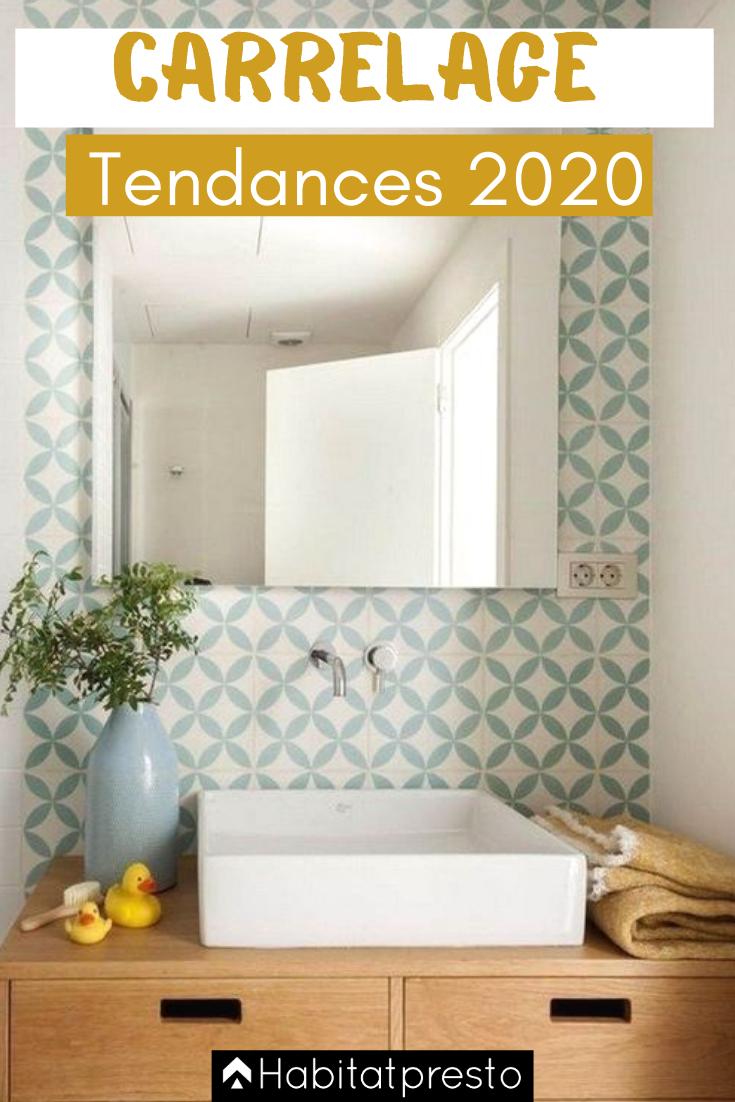Tendances carrelage 2020 7 incontournables id e salle - Tendance carrelage salle de bain 2020 ...