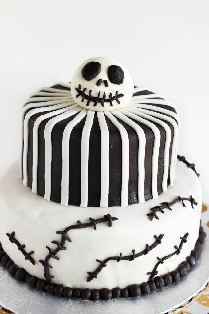 Nightmare Before Christmas Cake Jack Skellington Cake Recipe