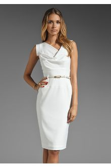 db46d6de Black Halo Classic Jackie O Dress in (antique white) | My board ...