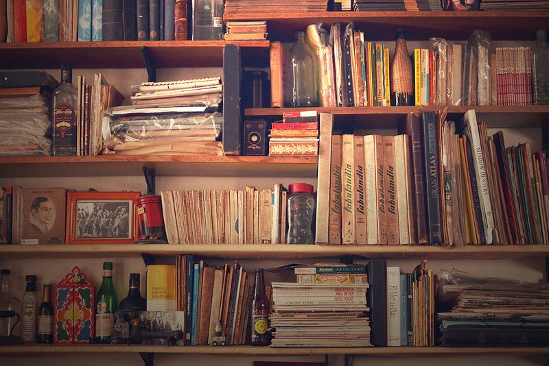 #Books #Bookself #Vintage