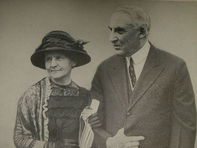 Pierre Curie Marie Curie and President Harding Science