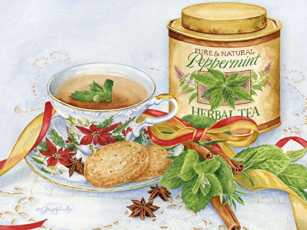 Lang December 2014 | Herb Garden Christmas peppermint tea. Christmas