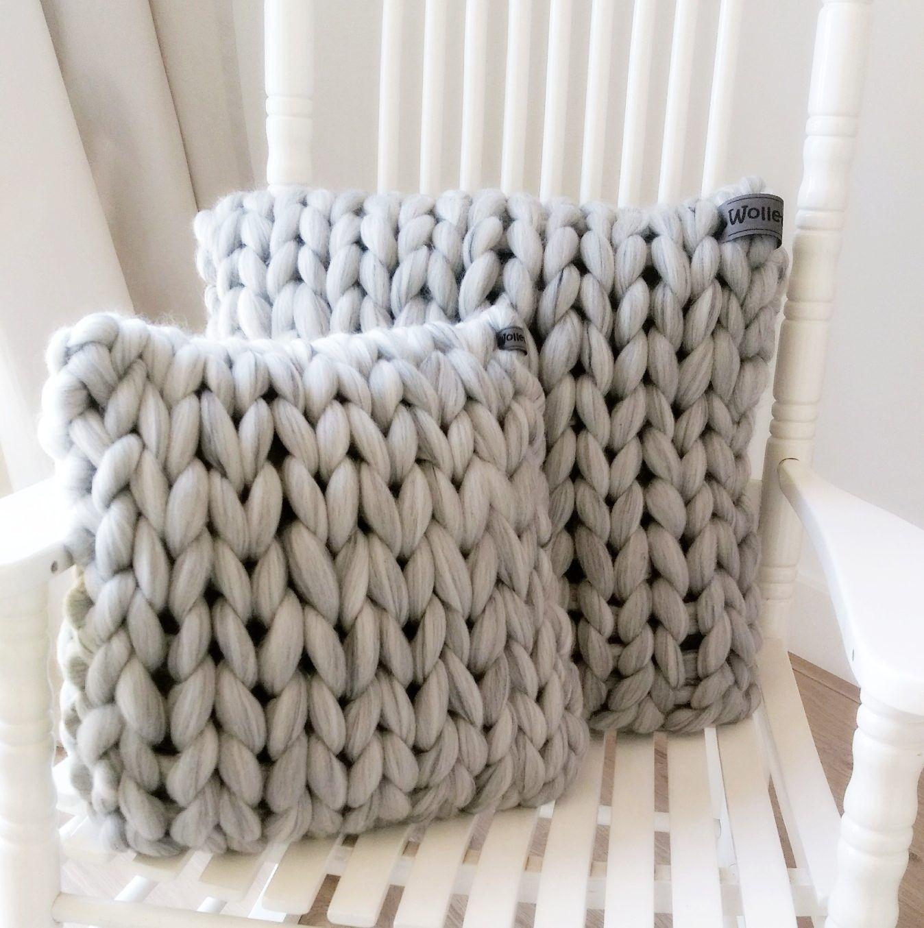 wwwwolletjebolnl chunky merino grof gebreid plaid deken
