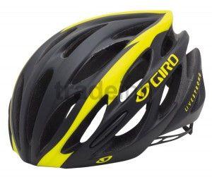 Giro Saros Matte Black Yellow Livestrong 116 27 Bike Helmet Helmet Bicycle Pump