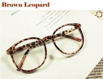 a1be9495805f4 Vintage Retro Style Oversized Round Shape Nerd Geek Glasses Frame ...