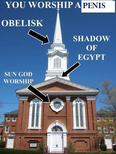 Church steeples are sex symbols
