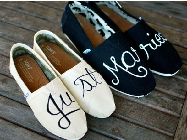 Espadrilles Just married !!! | Usine chaussures toms