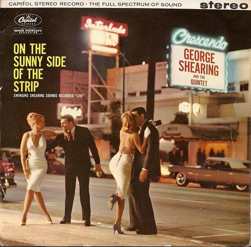 George Shearing live at The Crescendo! LP released by Capitol Records in 1958 https://www.facebook.com/VintageLosAngeles