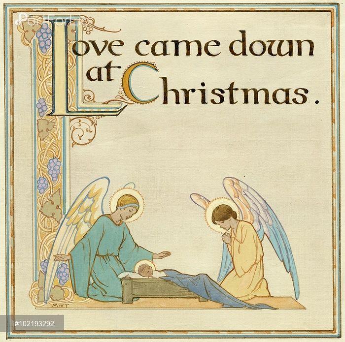 'Love Came Down At Christmas'