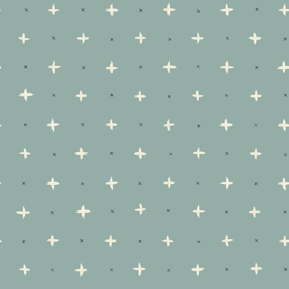 Cross Stitch Wallpaper In Green From The Magnolia Home Vol 3 Collecti Green Wallpaper Magnolia Homes York Wallpaper