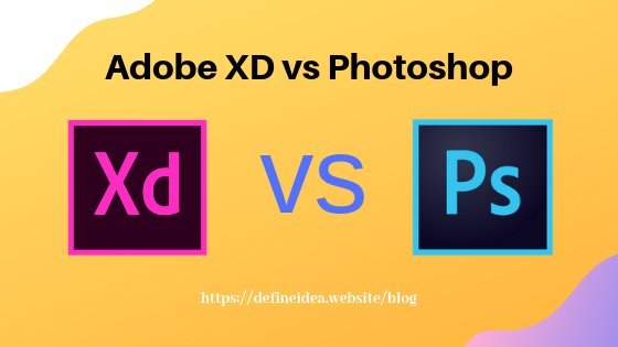 Adobe Xd Vs Photoshop Adobe Xd Create Website Photoshop