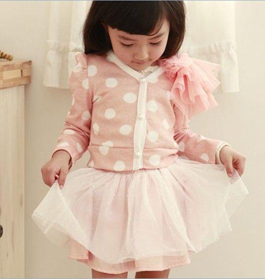 Süß Dots Suit Rosa