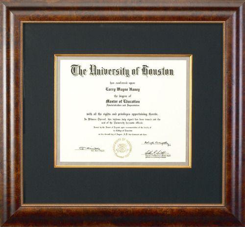 Celebrate Your Achievements With Custom Framing Frame Custom Framing Certificate Frames