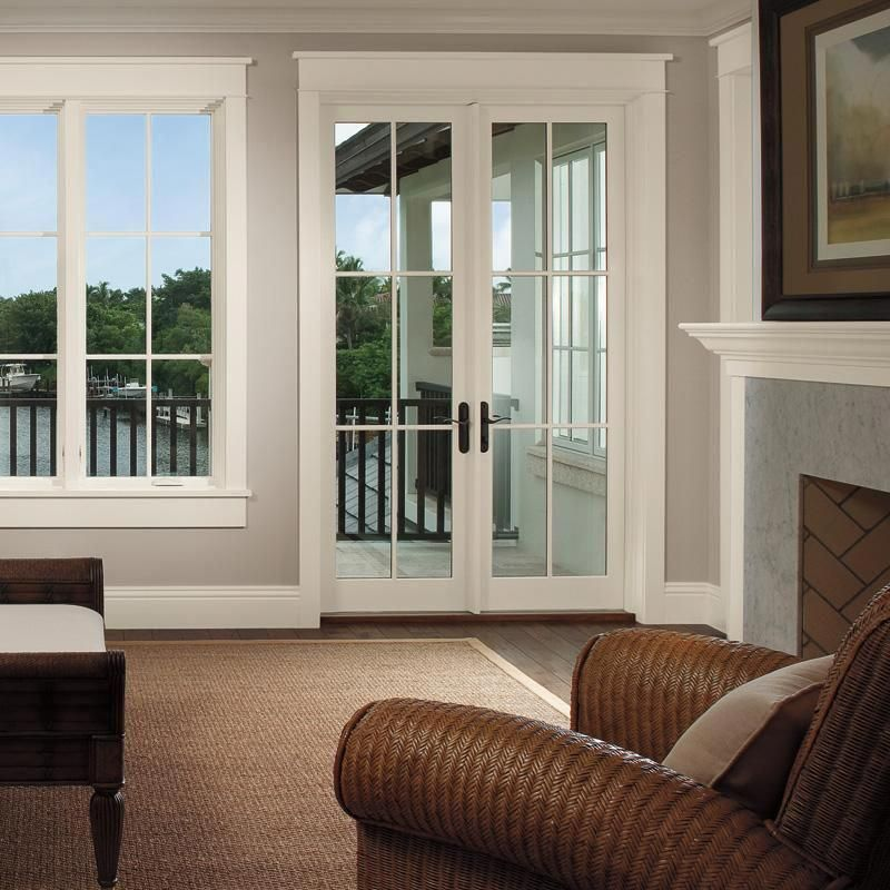 Integrity Iz3 Impact Outswing French Door Integrity Windows And Doors From Marvin Are Tough And B Upvc French Doors Interior Sliding French Doors French Doors