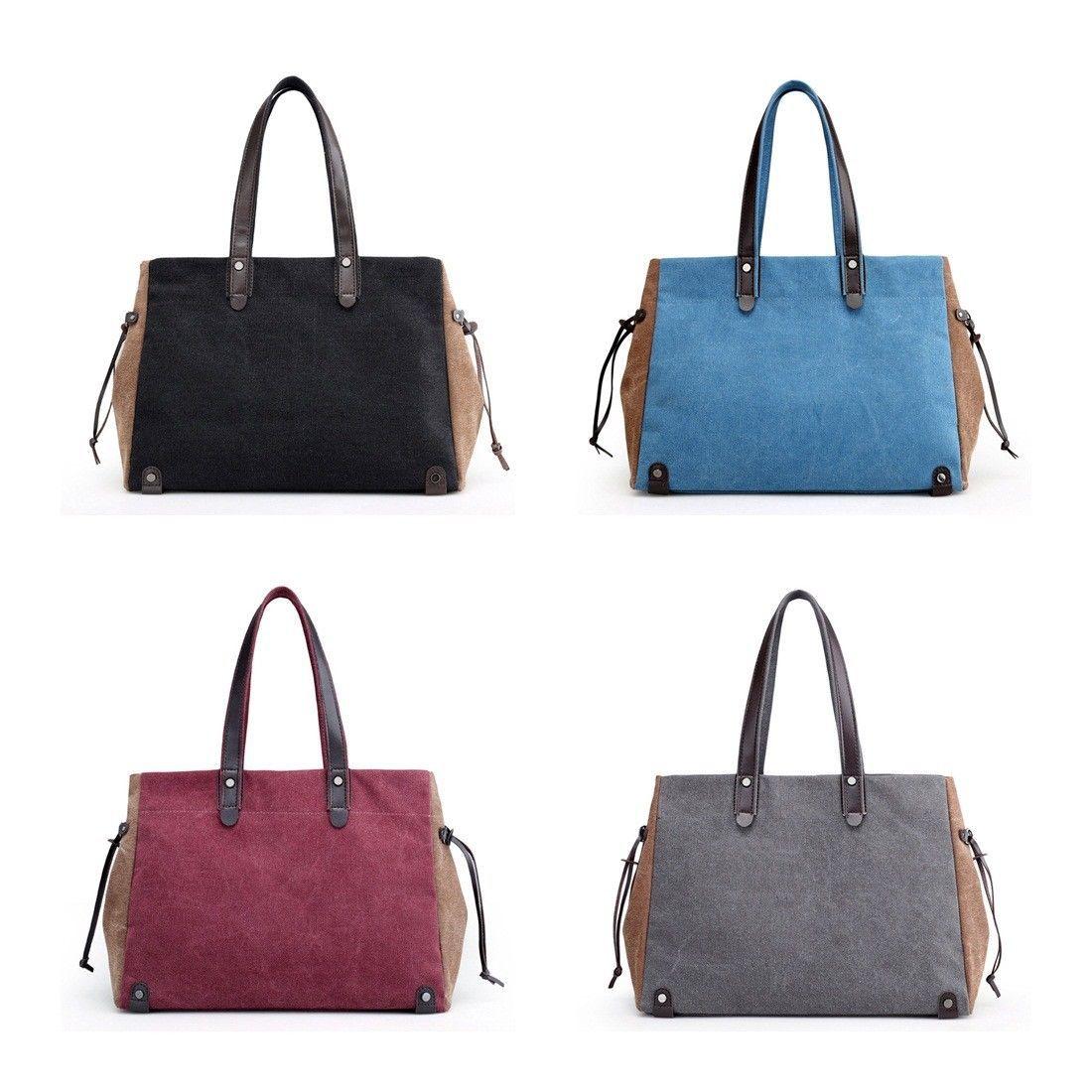 c9b1ab62ce43 Women Girls Fashion Travel Casual Work Shoulder Satchel Bag Tote Purse  Handbag