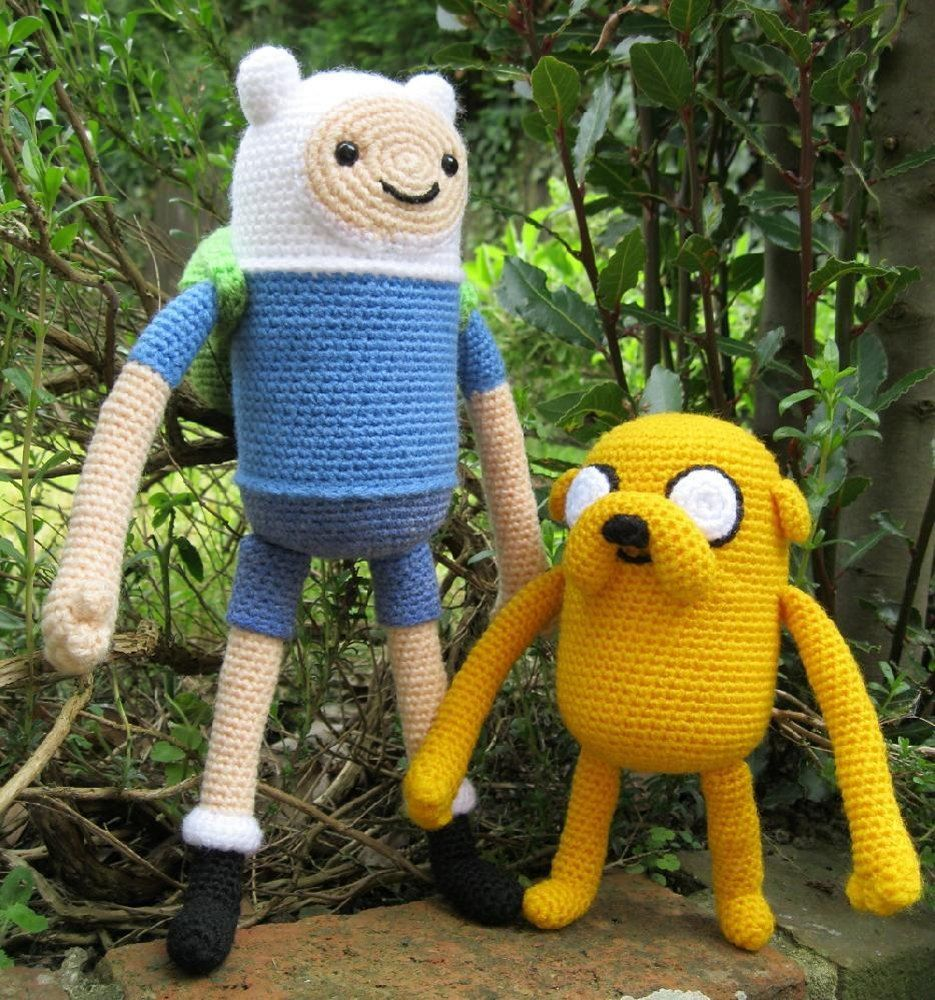 Crochet Pattern of Jake the Dog from