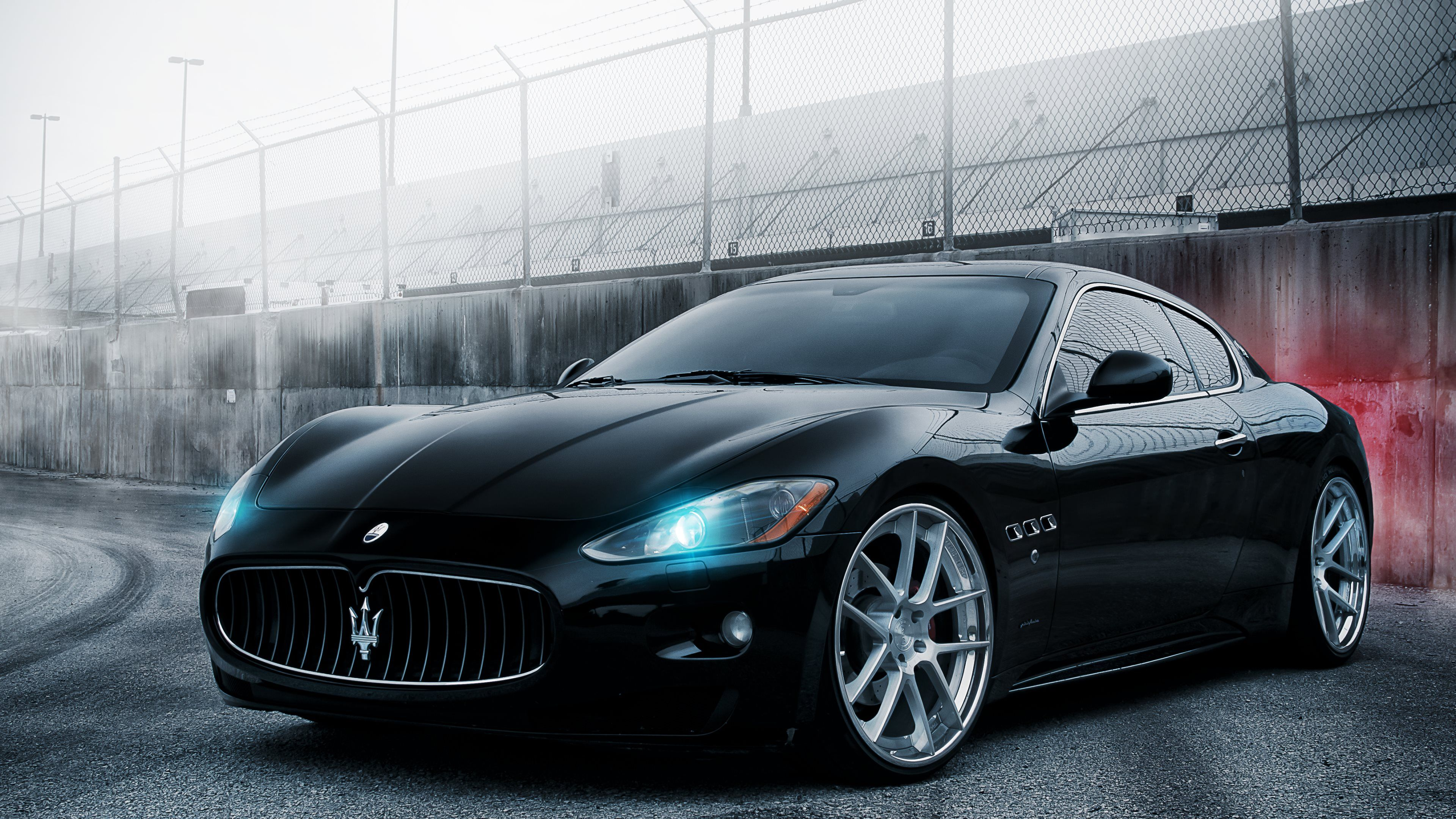 Maseratigtleftfrontviewultrahdg 38402160 hd wallpapers black is black hd wide wallpaper for widescreen wallpapers hd wallpapers publicscrutiny Images