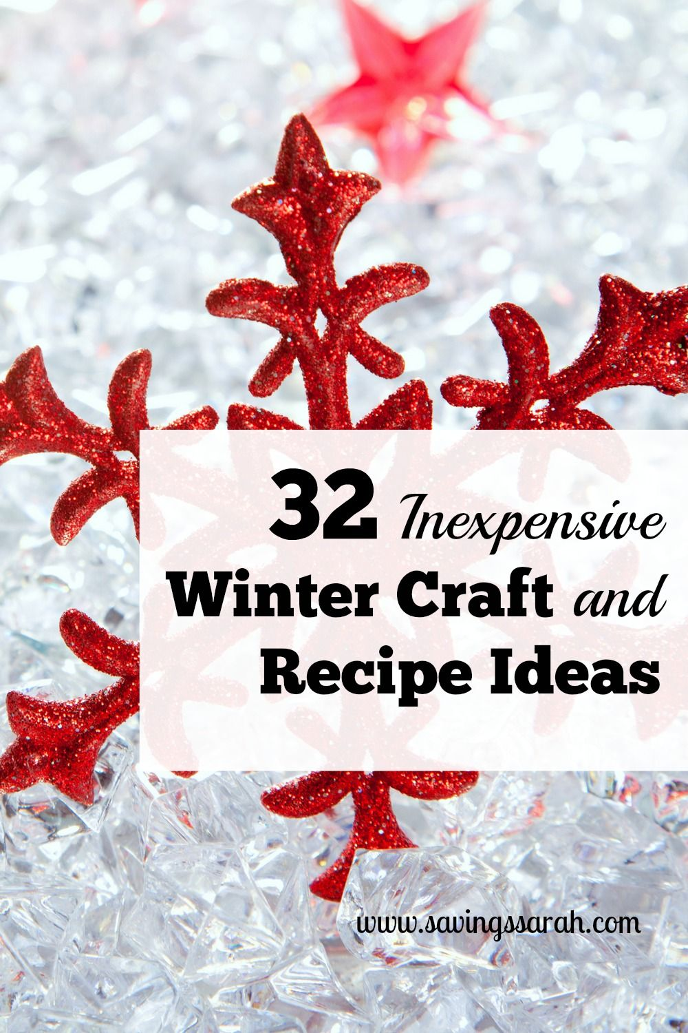 32 Creative, Inexpensive Winter Craft And Recipe Ideas | Earning and ...