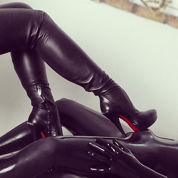 NOQRCN Leather Boots, Kinky, Heavy Rubber, Type 3, Sexy Boots, Fetish