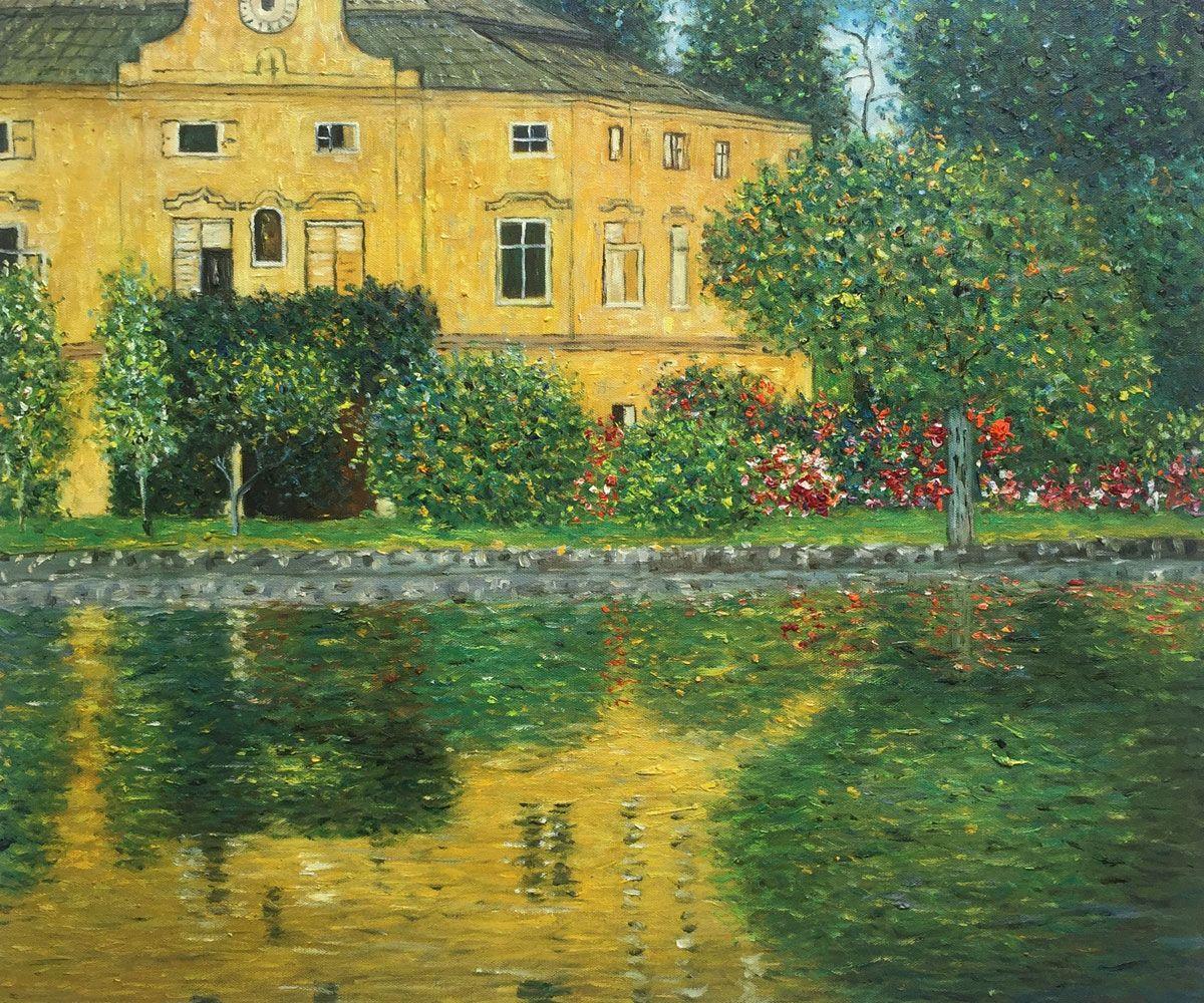 Schloss Kammer On Attersee Horizontal Reproduction At Overstockart Com In 2021 Gustav Klimt Klimt Klimt Paintings