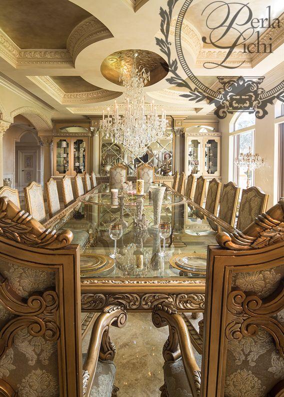 Luxury Formal Dining Room Sets: Dinning - Perla Lichi Design
