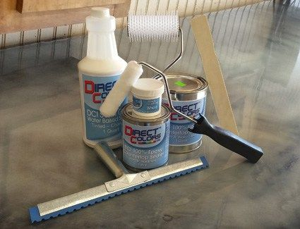 Re-Create your Existing Countertop Surfaces for Less with DCI Three Step Metallic Epoxy Kits!