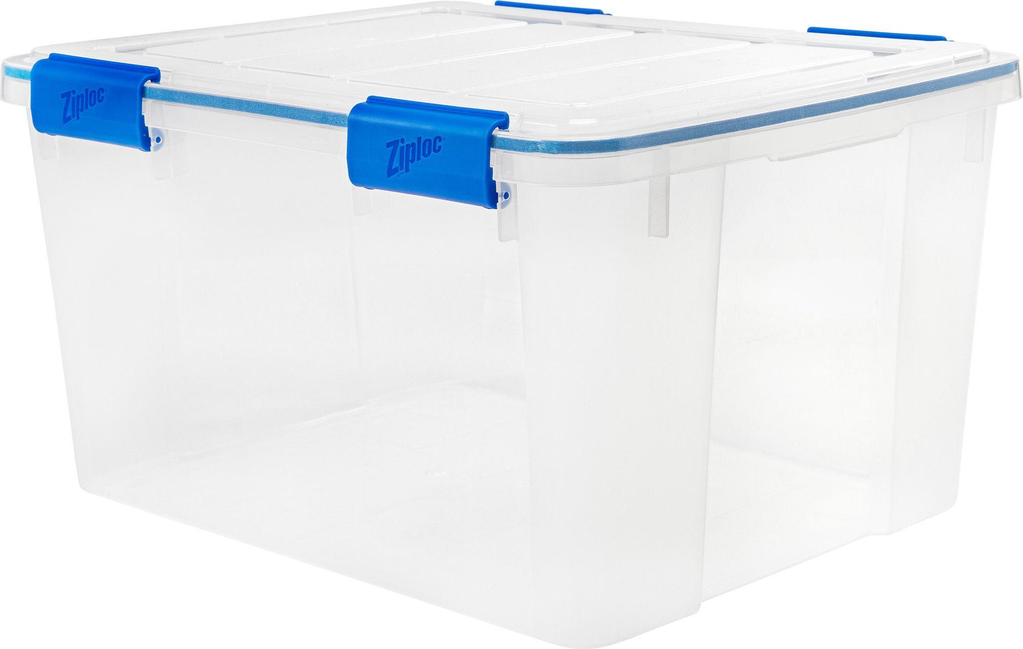 Ziploc 26 5 Qt Plastic Storage Tote Products Plastic