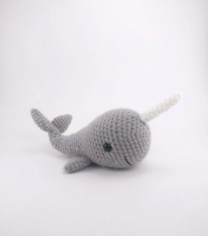 Norbert The Whale Or Narwhal Amigurumi Pattern Crochet Hooker