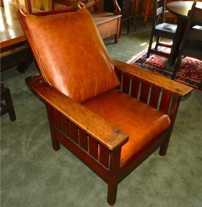 Prime Antique Morris Recliner Made By Stickley In 2019 Morris Machost Co Dining Chair Design Ideas Machostcouk