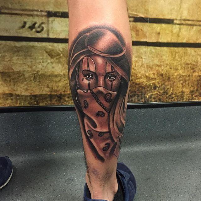 100 Tatuagens Masculinas Na Perna Melhores Fotos Tatuagem