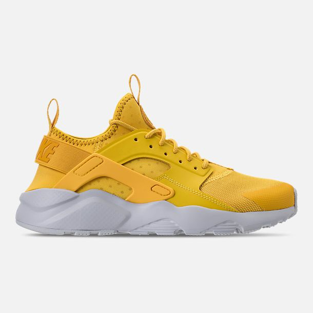1a8f6352236b Right view of Men s Nike Air Huarache Run Ultra Casual Shoes in Mineral  Yellow Sulfur