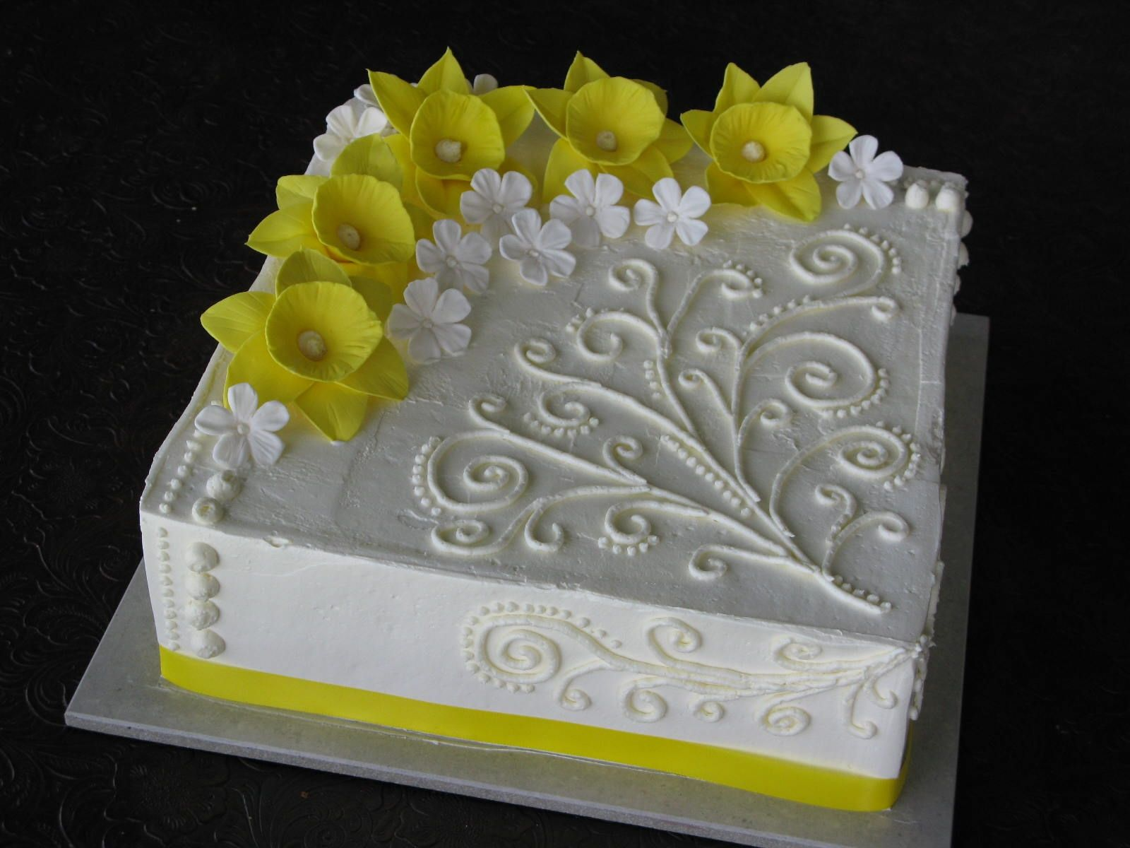 how to make gumpaste daffodil flowers