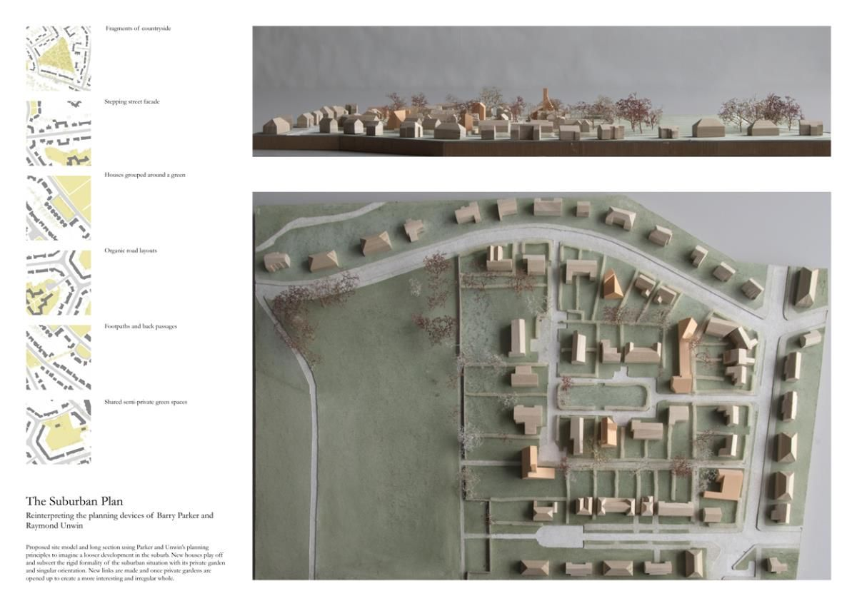 Presidents Medals Outer City Settlement Reassessing The Suburban Situation Of Hampstead Garden Subu Architecture Portfolio Layout Layout Architecture Suburbs