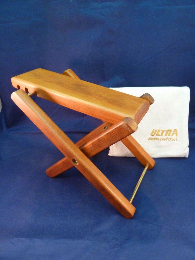 Ultra Wooden Footstool Guitar Folding Adjustable Footrest With Storage Bag Ultra Wooden Footstool Footstool Foot Rest