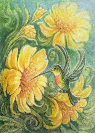 Art by Lynn Bonnette: April 2010