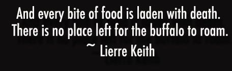 from Lierre Keith, former Vegan