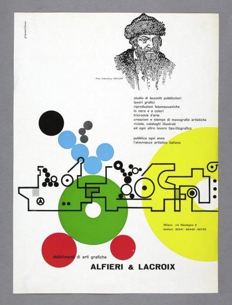 Franco Grignani stabilimenti di arti grafiche ALFIERI & LACROIX