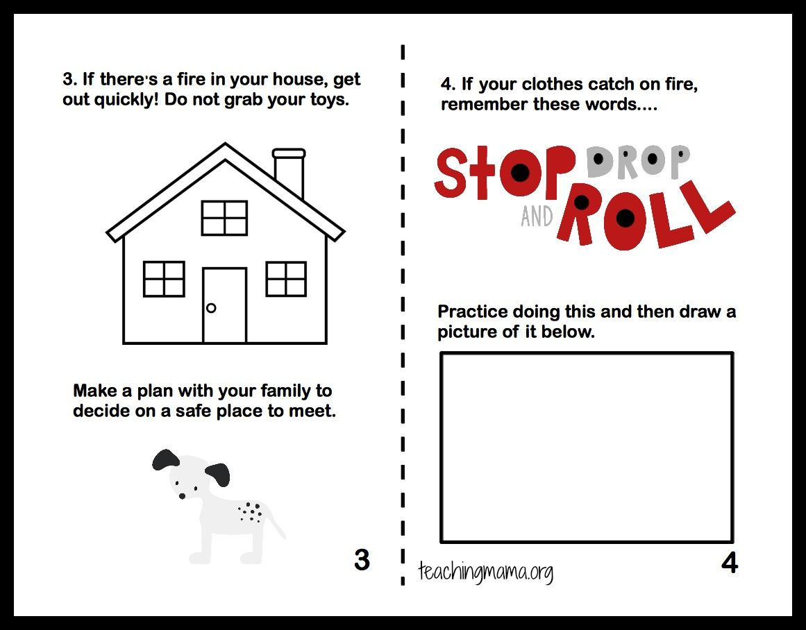 Worksheets Fire Safety Worksheets fire safety week and week